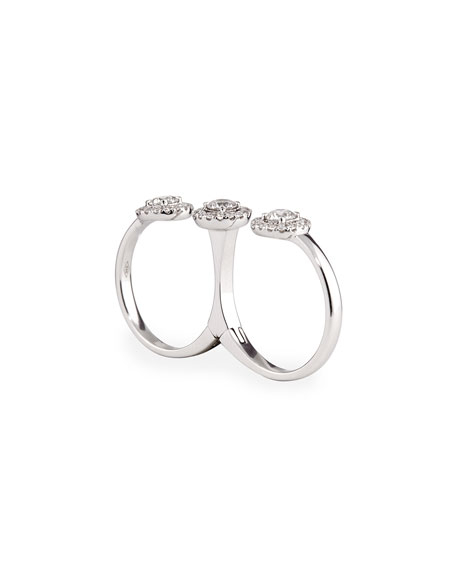 Joy Diamond Double-Finger Ring