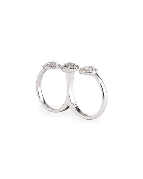 Joy Diamond Double-Finger Ring