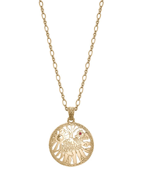 Batu Classic Chain 18k Limited Edition Pendant Necklace
