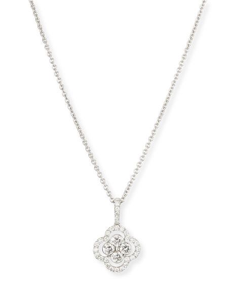 uni design clover pendant necklace 18 quot l