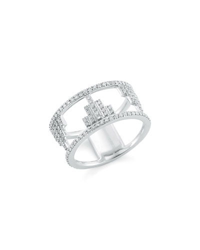 Empire Open Frame Diamond Ring
