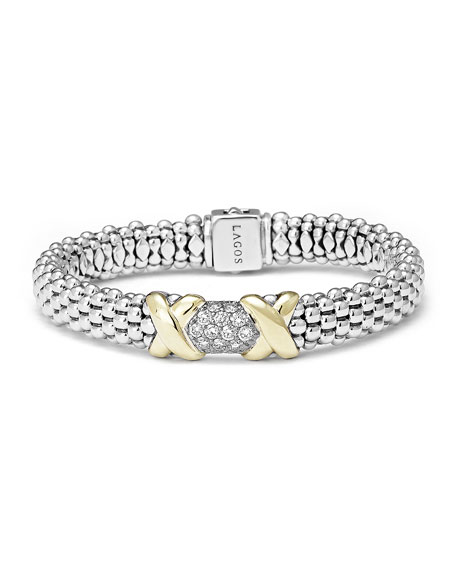 Caviar Diamond Lux Bracelet, 9mm