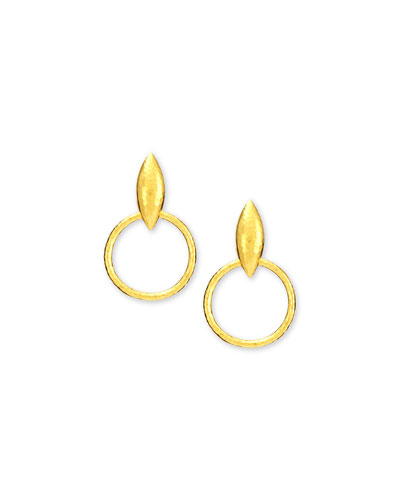 Wheatla Collection 24k Drop Earrings