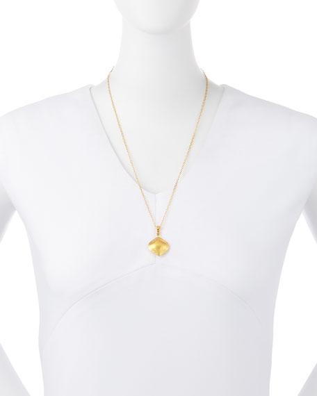 Clove 24k Gold Pendant Necklace