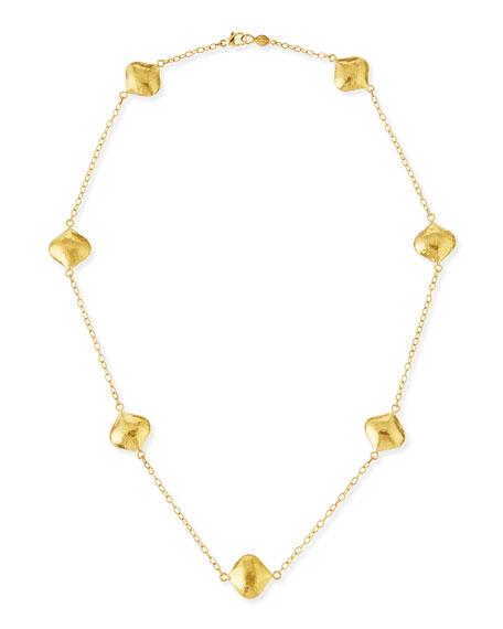 Gurhan Clove 24k Gold Short Station Necklace