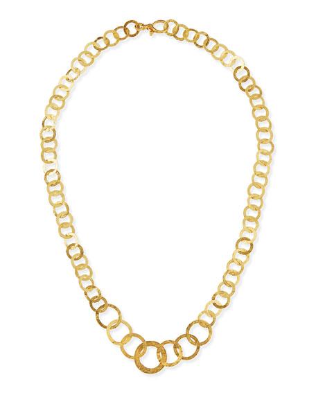 Gurhan Hoopla 24k Gold Infinity Necklace