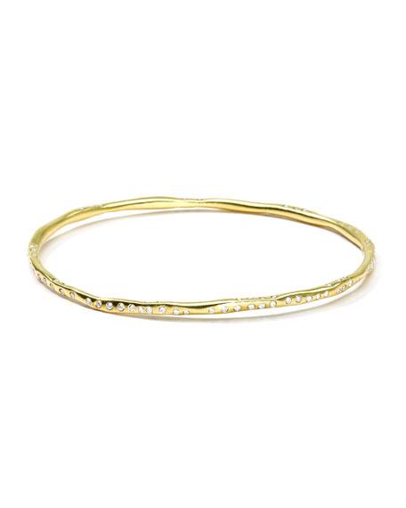 Diva 18k Gold Bangle with Diamonds