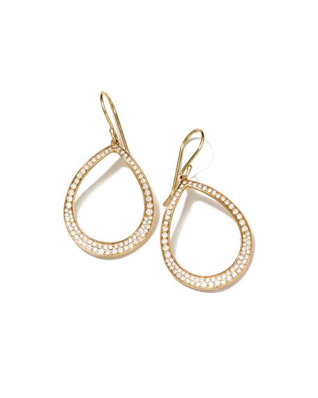 Stardust Pear-Shaped Diamond Earrings