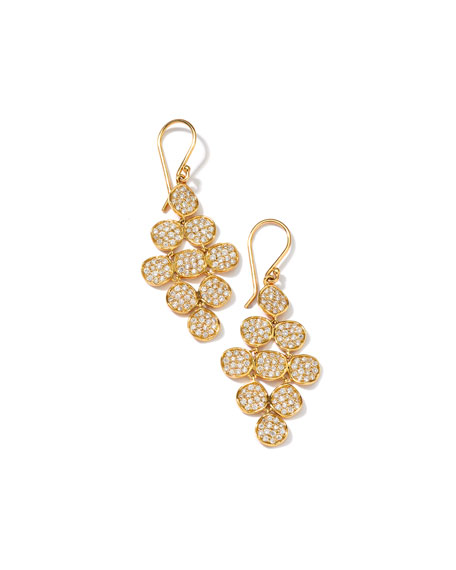 Ippolita Stardust 18k Cascading Diamond Earrings