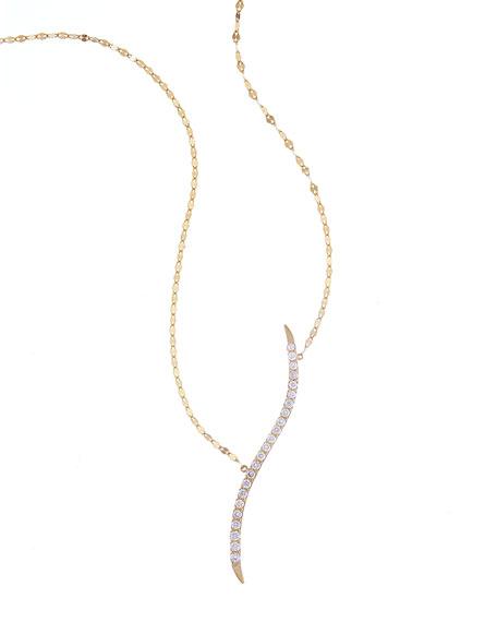 Flawless Mirage Diamond Pendant Necklace