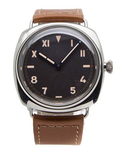 Classic Panerai Radiomir California Dial Platinum Watch