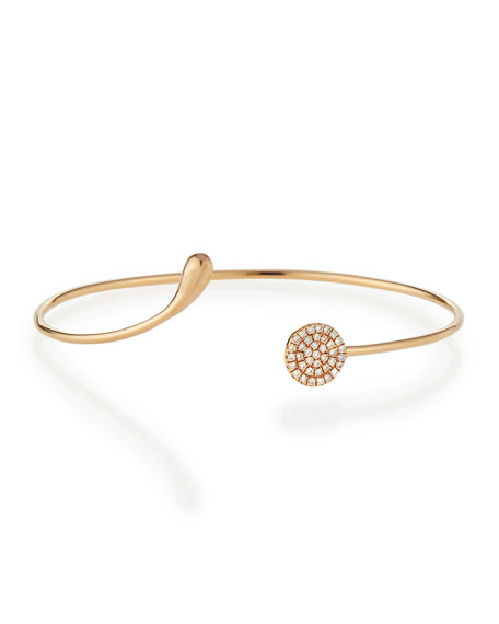 Diane Kordas White Diamond Circle Bangle