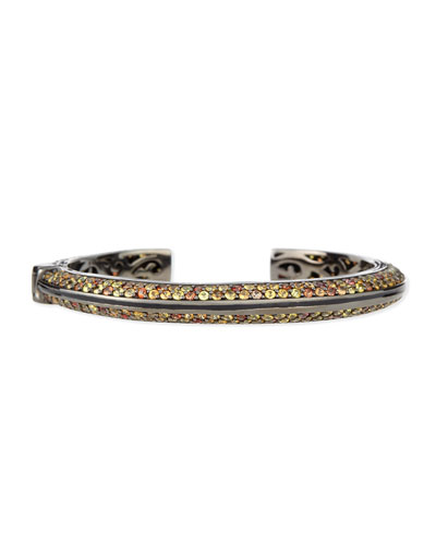 Garden of Spring and Summer Sapphire Kick Cuff