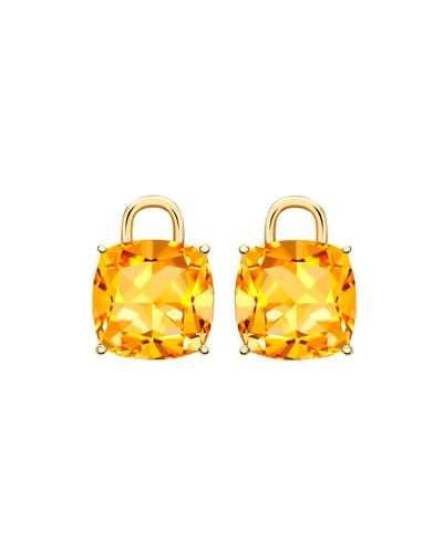 Eternal 18k Gold Citrine Earring Charms