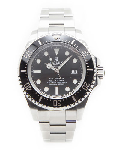 Classic Rolex Deepsea Sea-Dweller Watch