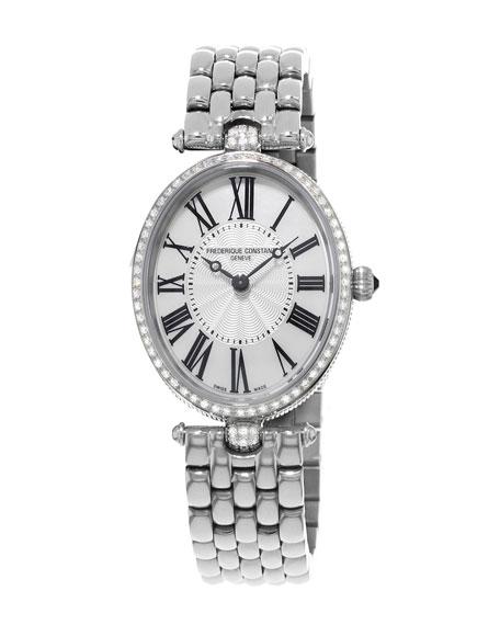 Ladies' Classics Art Deco Stainless Diamond Watch