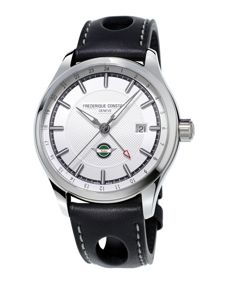 40mm Gents Vintage Rally Healey GMT Auto Watch