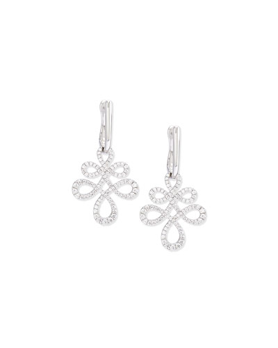 Eloise Medium Diamond Drop Earrings