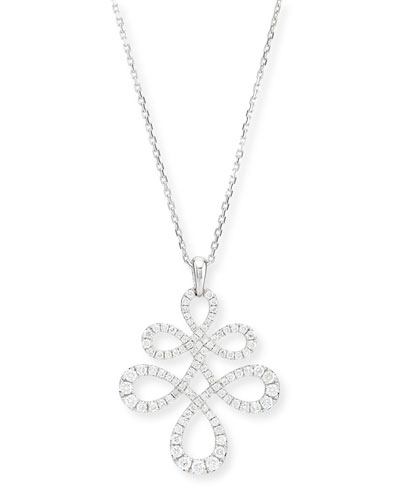 Eloise Large Diamond Pendant Necklace