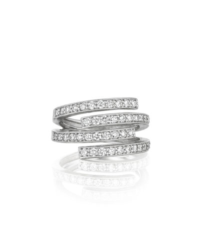 Double Wrap Diamond Ring