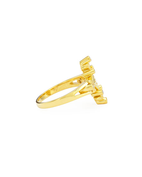 Aegean 18k Diamond Ring, Size 6.5