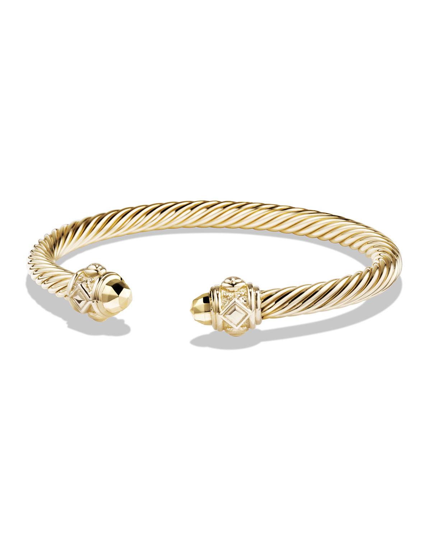 8f06c8a50c27 David Yurman Renaissance Bracelet in 18k Yellow Gold