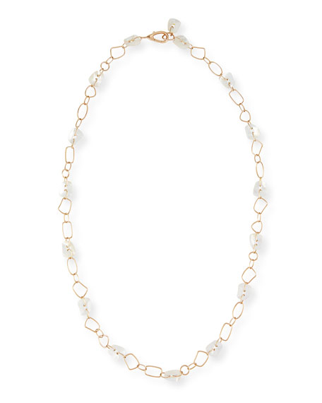 Puzzle Necklace with Mother-of-Pearl