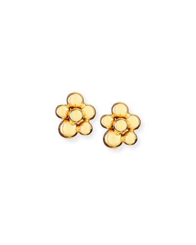 Atomo Mini 18k Gold Earrings