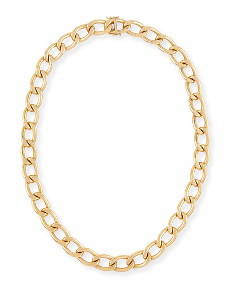 Rina Limor New Essentials 18k Gold Link Necklace