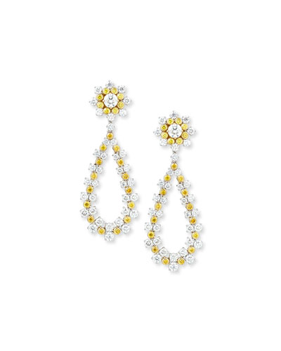 Jubilee Diamond Earrings with Detachable Drop