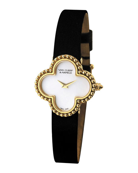 Vintage Alhambra Yellow Gold Watch, Small
