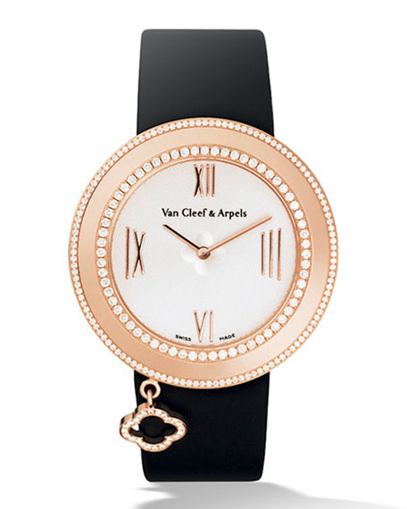 Van Cleef & Arpels Pink Gold Charms Watch