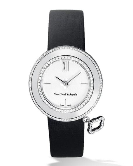 Van Cleef & Arpels White Gold Charms Watch