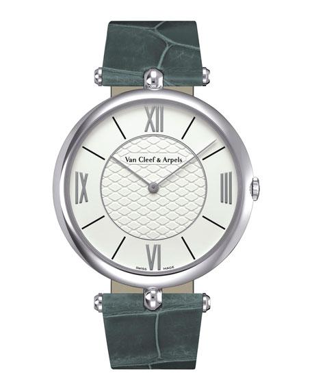 Pierre Arpels White Gold Watch, 38mm