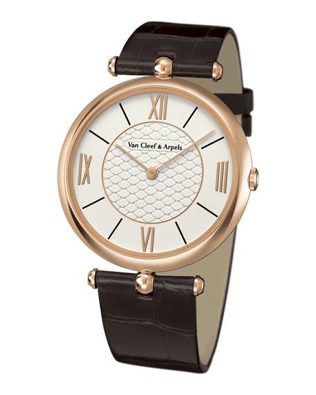 Pierre Arpels Pink Gold Watch, 38mm