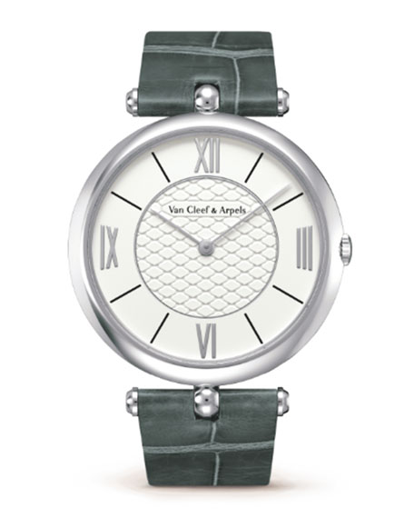 Pierre Arpels White Gold Watch, 42mm