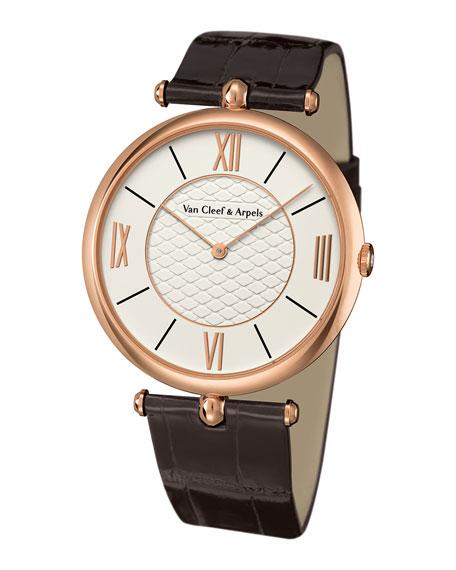 Pierre Arpels Pink Gold Watch, 42mm