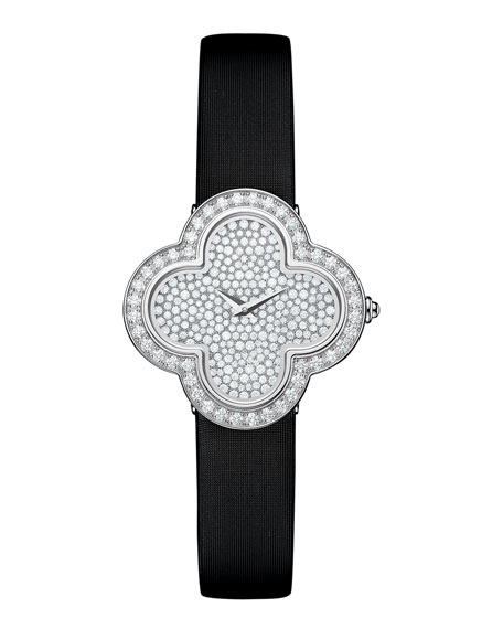 Van Cleef & Arpels Alhambra Pave White Gold