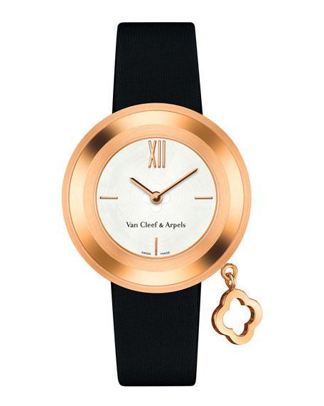 Van Cleef & Arpels Charms Pink Gold Watch, 32mm