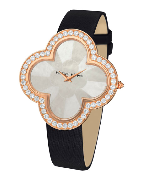 Alhambra Talisman Pink Gold Watch, 40mm