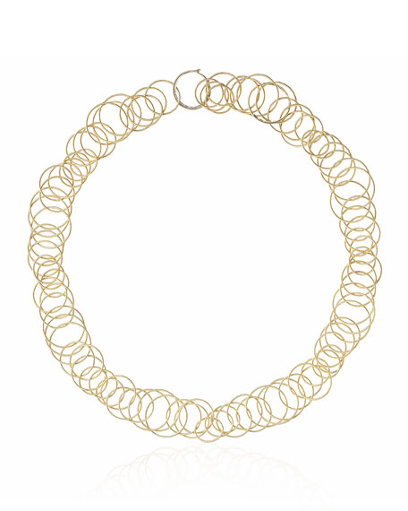 18k Gold Hawaii Short Necklace, 18""