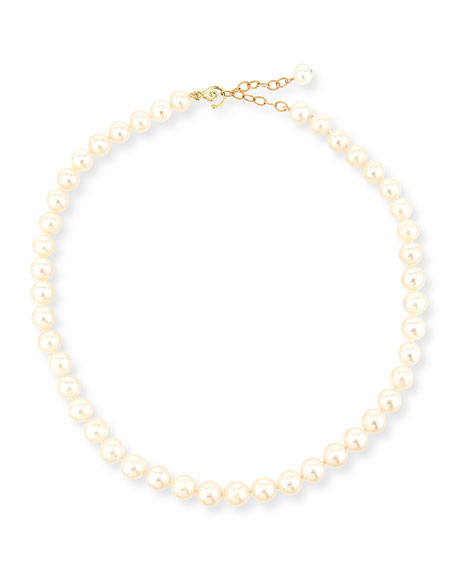 Linda Bergman 10mm Freshwater Pearl Necklace, 17