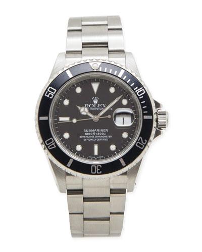 Classic Rolex Men's Submariner Watch
