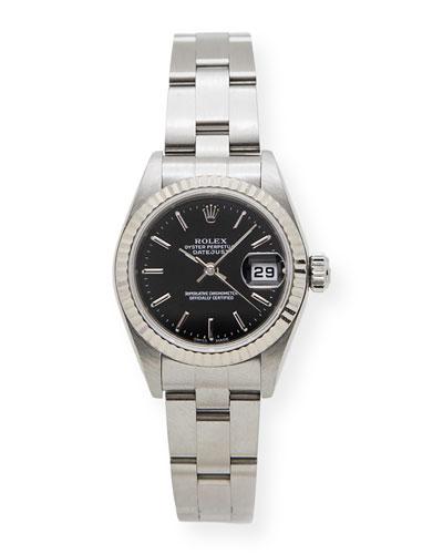 Classic Rolex Ladies' DateJust Stainless Steel Watch