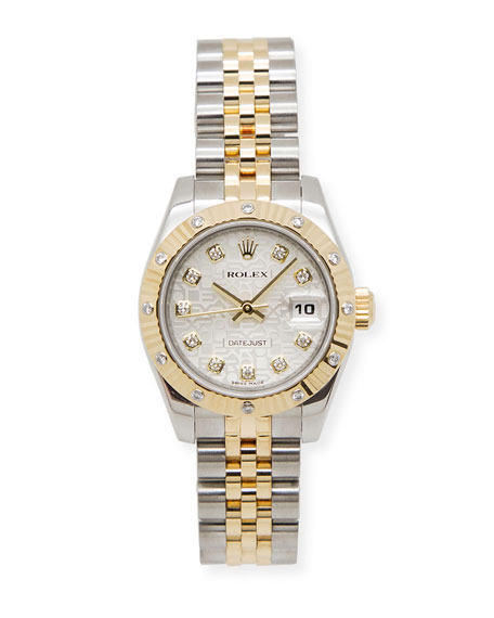 Classic Rolex Ladies' Oyster Jubilee DateJust Watch