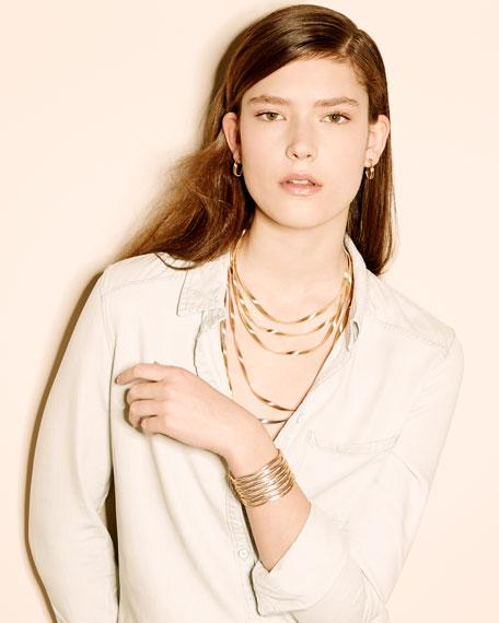 """Marrakech Supreme Tricolor Three-Strand Necklace, 31.5"""""""