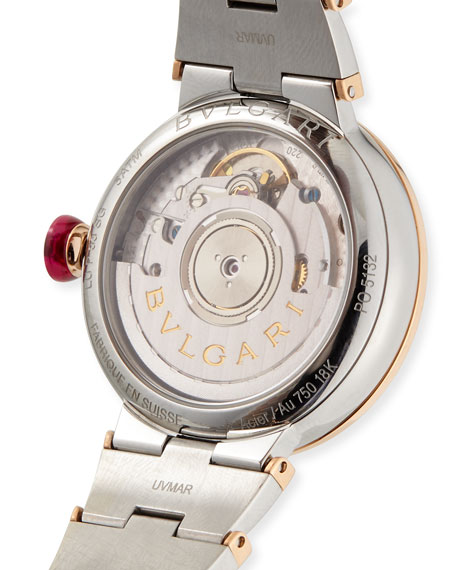 33mm LVCEA Watch with Diamonds, Two-Tone
