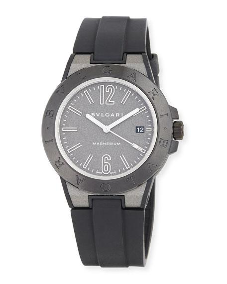 41mm Diagono Magnesium Watch, Gray