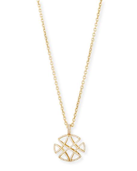 "Freedom Pave Diamond Pendant Necklace, 30""L"