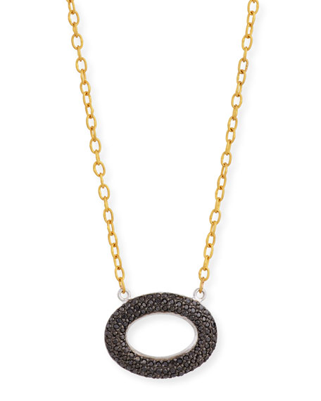 Galahad Reversible Pave Diamond Necklace